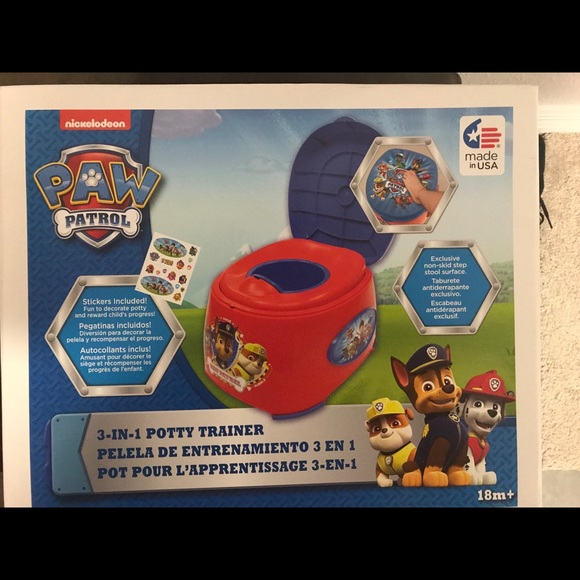 Peachy Nwt Paw Patrol Potty Training Seat Boutique Ncnpc Chair Design For Home Ncnpcorg